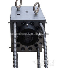 alibaba plastic machine melt gear pump for continuous screen changer