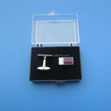 stamping Qatar National Day Gifts Sets cufflinks lapel pin with epoxy velour box