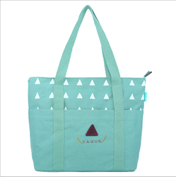 Monogrammed wholesale canvas tote bag cotton beach bags