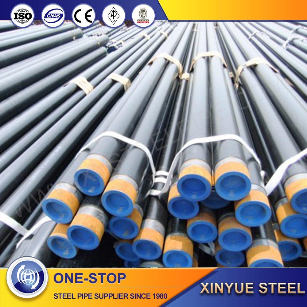 astm a53 black sch40 seamless gas pipe