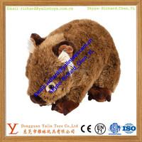 Soft Plush Wild Boar Stuffed Animals Toys