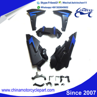 FYAMT055BL Motorcycle ABS Plastic Fairing Kit For FZ09 MT09 2014 2015 Blue