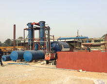 Easy-operate plastic cracking machine waste rubbish pyrolysis line waste plastic incinerator