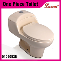 Barthroom Accessories Bone Color Siphonic Sanitary Ware Toilet Wc