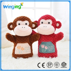 Alibaba baby cute animal toy hand puppets kid hand puppets for sale