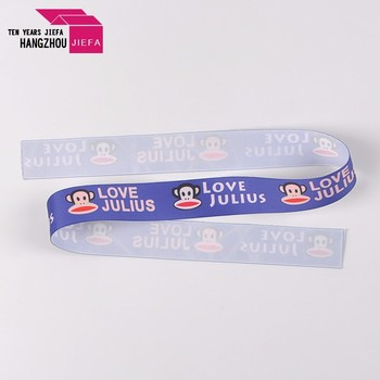 Wholesale Custom Printed Satin Ribbon With Logo