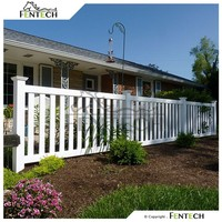 Fentech High Quality Easy Installation Plastic Garden Fence Panels