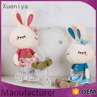 made in china promotional economy wholesale plush easter rabbit
