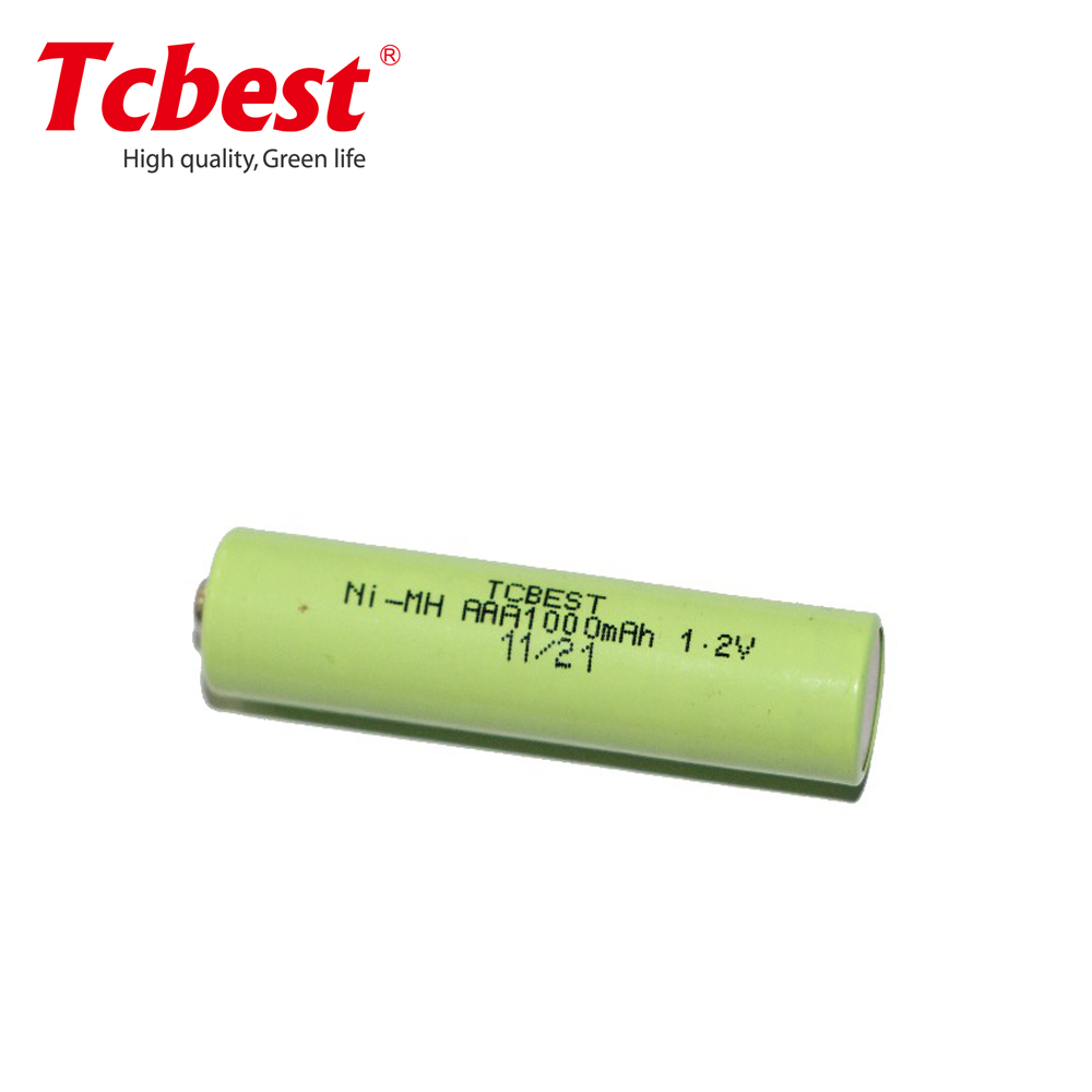 Hot sales 1000mah Ni-Mh1.2v battery from china