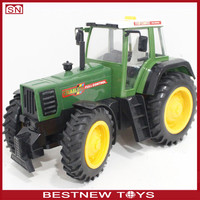 2015 NEW Realistic Rechargeable Plastic Remote Control Toy Farm Tractor