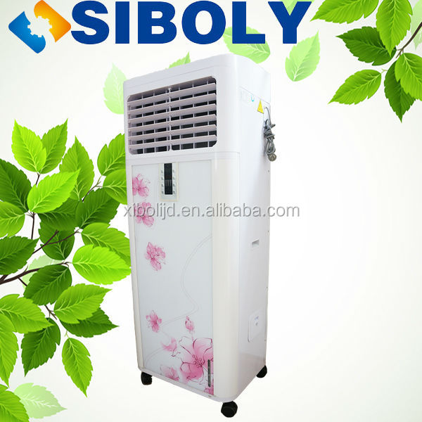 outdoor water air cooling unit, Economic noiseless air cooler, malaysia water air cooler
