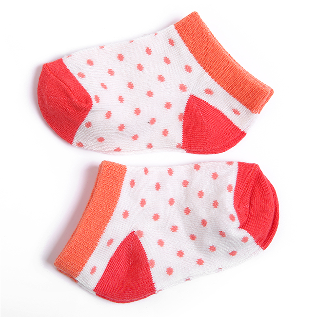 Comfortable 100% Cotton Baby Girls Socks