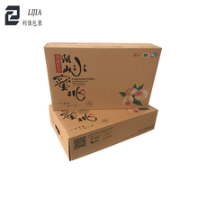 FSC Approved Strong Recycling Brown Customized Carton Package Box