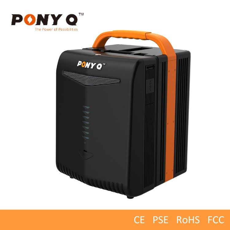 Portable Lithium Battery Operated Home Generator with 220V AC Output