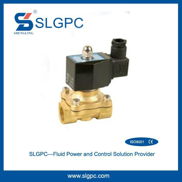 Low price two position two way 24v 2W160-15D solenoid valve 220v AC