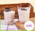 2017 newer easy take away 57ml ice coffee cups with plastic material