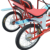 4 Wheelers Pedal Rental Bike, Tandem Beach Cruiser Pedal Quadricycle 4 Seat Bike