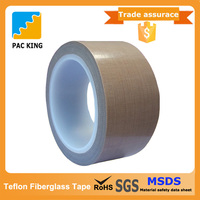 Easy to Use High temperature resistance PTFE teflon fiberglass adhesive tape price