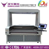 Automatic feeding laser cutting machine ,CO2 Laser Cutting Machine System for Cloth, Textile, Wood, Plastic Engraving