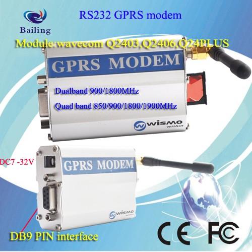 GSM/GPRS Fastrack Supreme 20 modem wavecom Q2687 remote control GSM modem