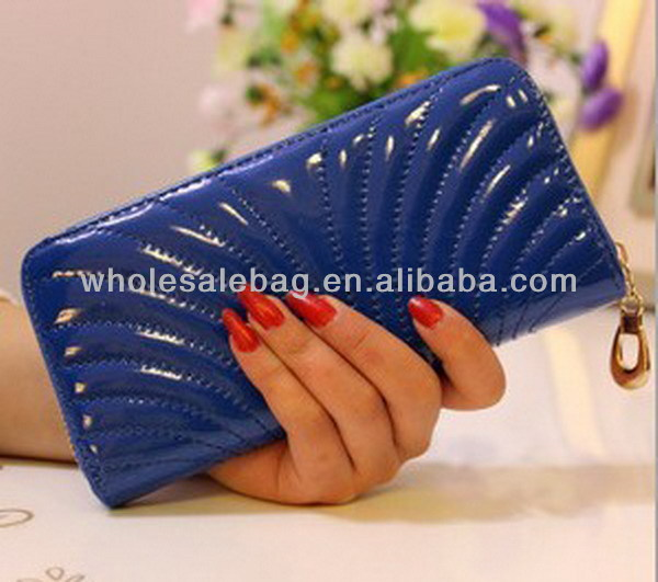 Best Seller Shell Clutch Wallet for Woman Clutch Shell Leather Purse For Lady Wholesale