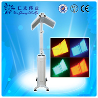 red blue yellow green led light therapy