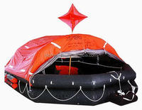 GRP Container self inflating pool raft