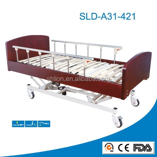 wooden hoarding bed for nursing homes