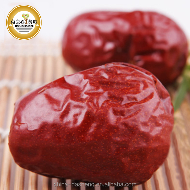 Supply Bulk 100% Natural Organic Whole Dried Sweet Jujube / Chinese Red Dates