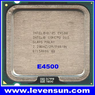 Intel cpu Core 2 Duo Processor E4500 (2M Cache, 2.20 GHz, 800 MHz FSB)