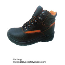 New metal free steel industry lab safety shoes with high upper