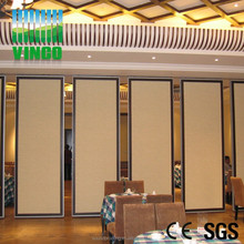 sandwich panel prefabricated homes movable partition walls on wheels room dividers banquet hall