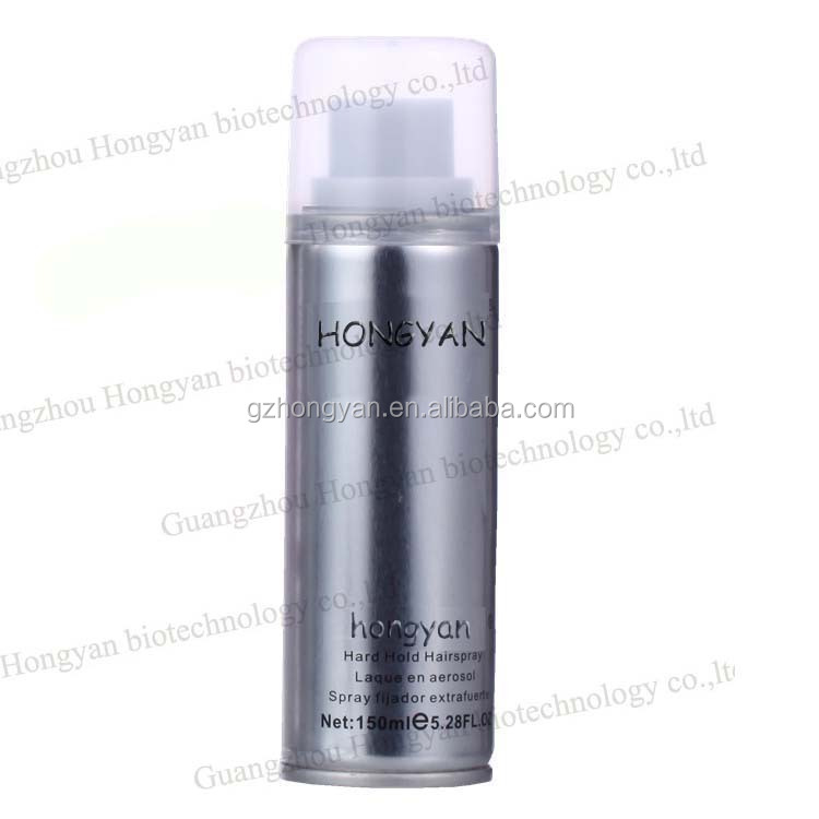 Long Lasting Super strong hold Hair Spray 150ml factory OEM