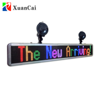 2018New style P4.75-16x128RGB indoor full color programmable Bluetooth led sign with computer software control