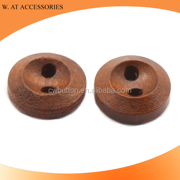 Wholesale wood buttons painted for clothing