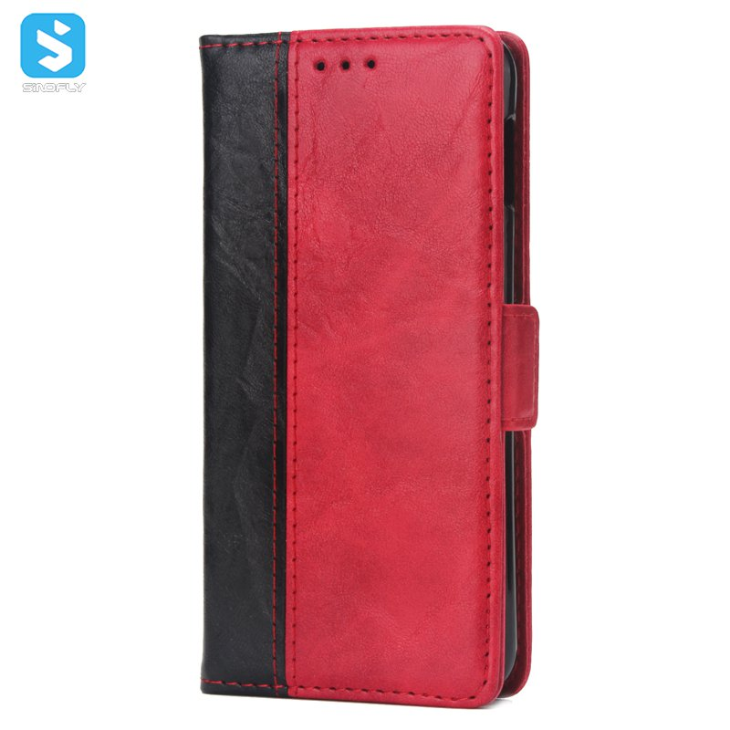 TPU PU leather card slot case cover for Samsung Galaxy S10 Lite