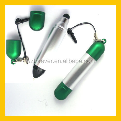 2 in 1 Plastic Capacitive Touch Screen Stylus Pen For Smart Phone
