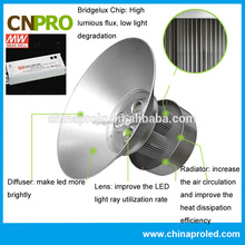Super bright high performance 150W led high bay light 3 years warranty