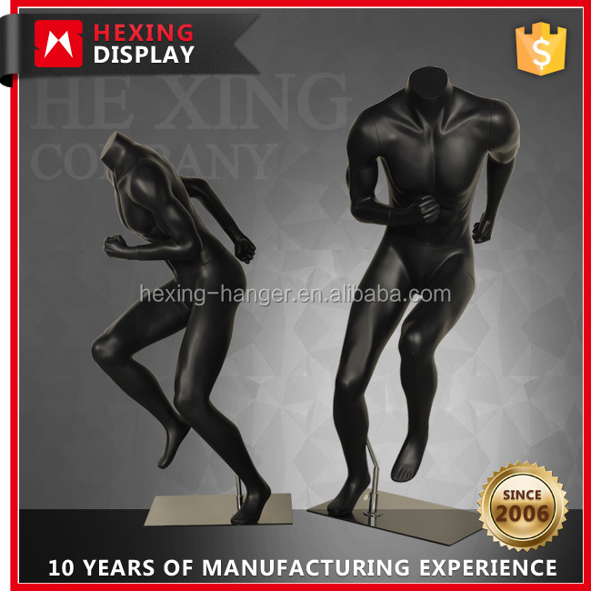 Running Manikin Athlete Male Mannequin Full Body
