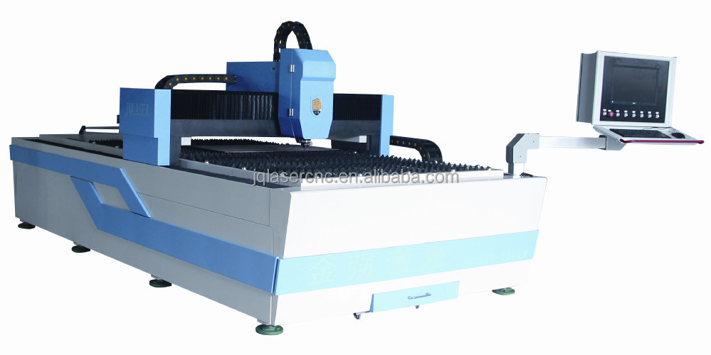 fiber 800W laser metal sticker machine for cutting