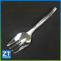 Aluminum Serving Disposable Plastic Silver Fork