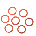 FDA NSF SILICONE RED RUBBER O RING PRODUCT