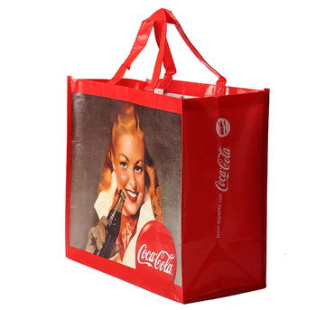OEM eco friendly laminated non woven shopping bag