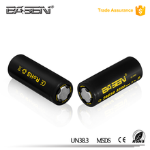 alibaba best sellers genuine basen 26650 4500mAh battery rechargeable 3.7v 60A