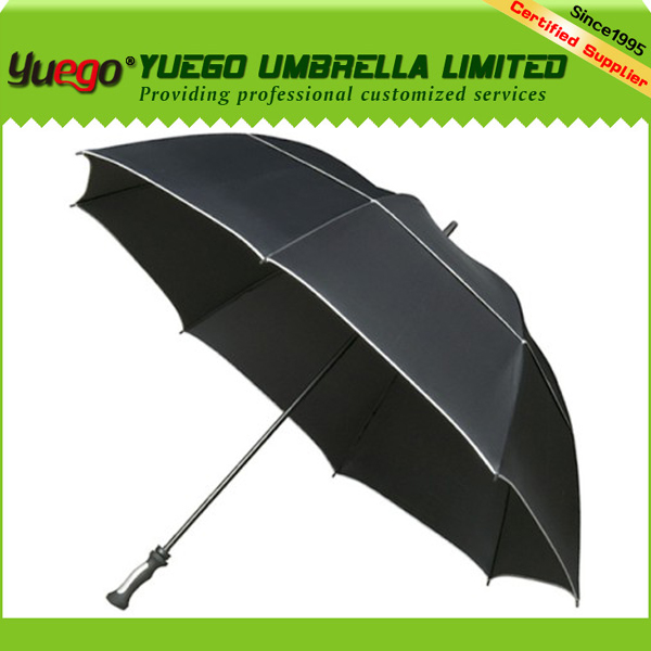 2014 new products golf cart black promotion auto umbrella