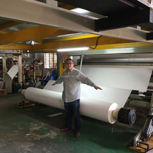 3.2m/126'' 140gsm high weight sublimation paper roll transfer printing sublimation printer heat transfer paper for advertisement