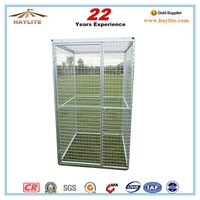 galvanized mesh wire outdoor welded dog kennel wholesale