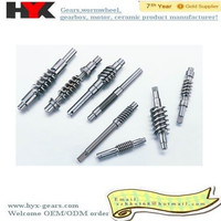 High quality stainless steel worm gear shaft and propeller shaft