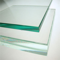 3-25mm Ultra clear low iron float glass tinted Tempered Glass price