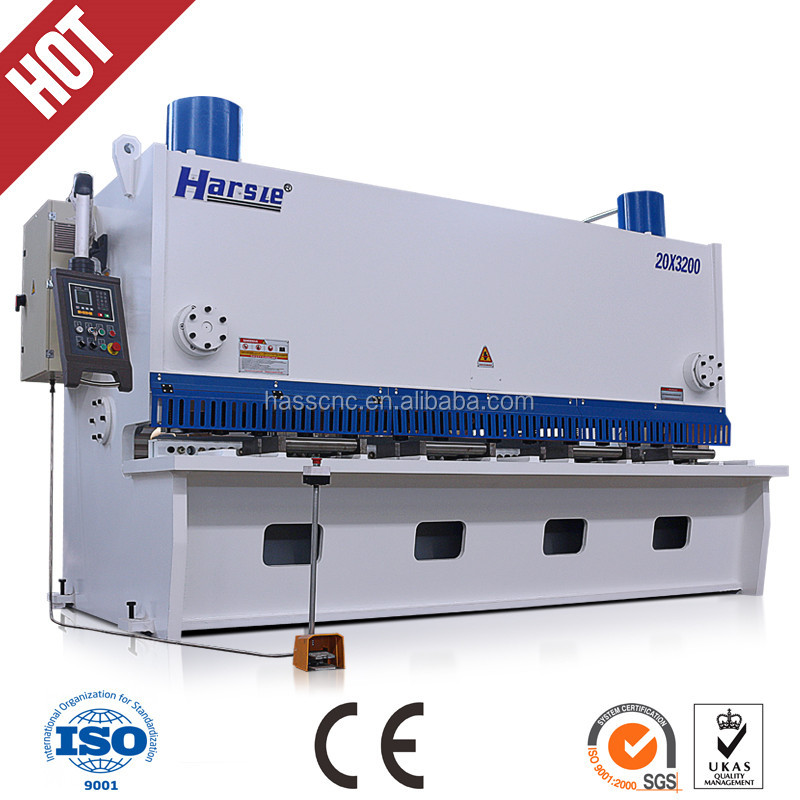 QC11series hydraulic guilloting shearing machine tools / Powerful Metal cutting machine